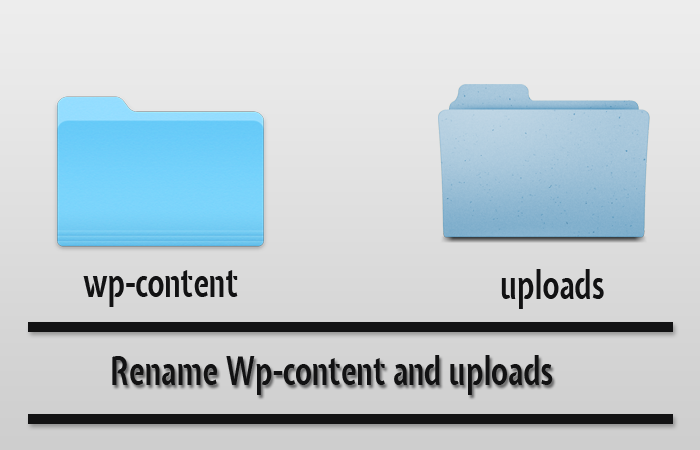 Rename wp-content Folder and Uploads – WordPress