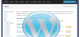 Suggest Your Ideas to WordPress development
