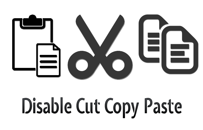 Disabling Cut, Copy, and Paste Operations in Textbox  and Textarea