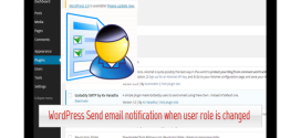 WordPress Send email notification when user role is changed