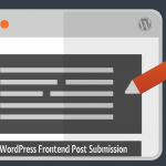 WordPress Frontend Post Submission