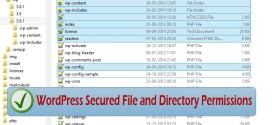 WordPress Secured File and Directory Permissions