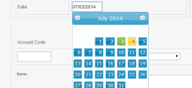 How to Use jQuery Datepicker in Frontaccounting