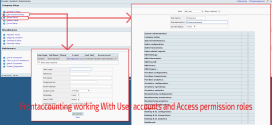 Frontaccounting working With User accounts and Access permission roles