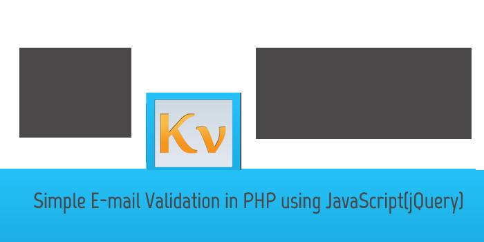 php-jquery-kv