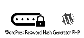 WordPress Password Hash Generator PHP