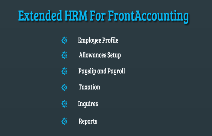 Extended HRM For FrontAccounting