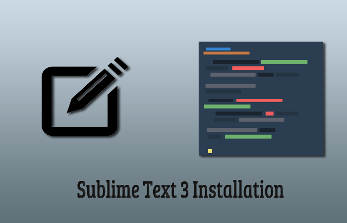Install and Update Sublime Text 3 Ubuntu Using Terminal