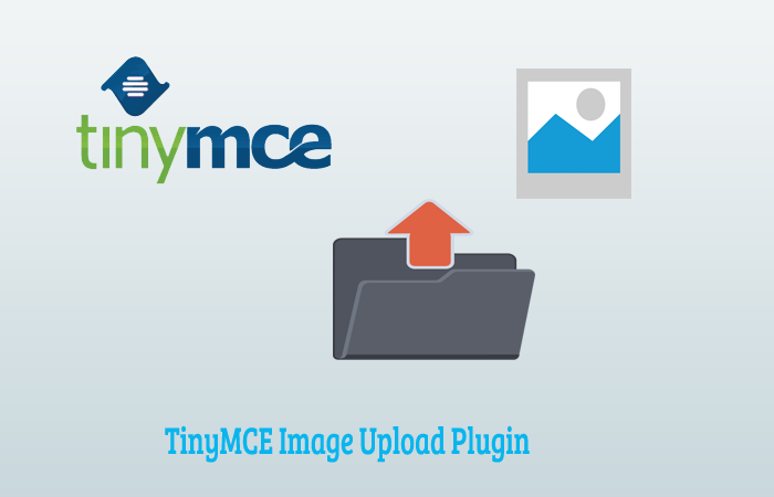 TinyMCE Image Upload Plugin