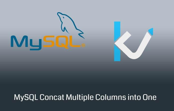 MySQL Concat Multiple Columns into One