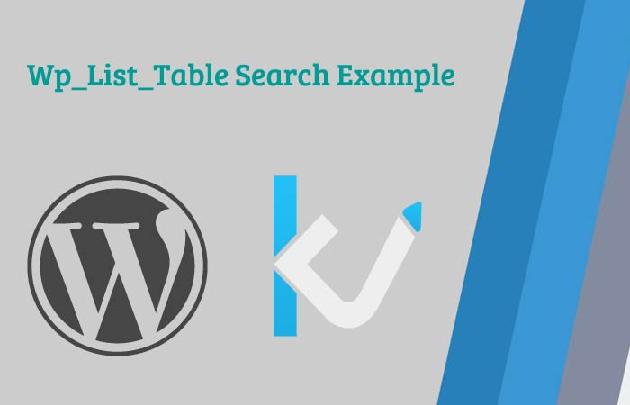 Wp_List_Table Search_Box Example