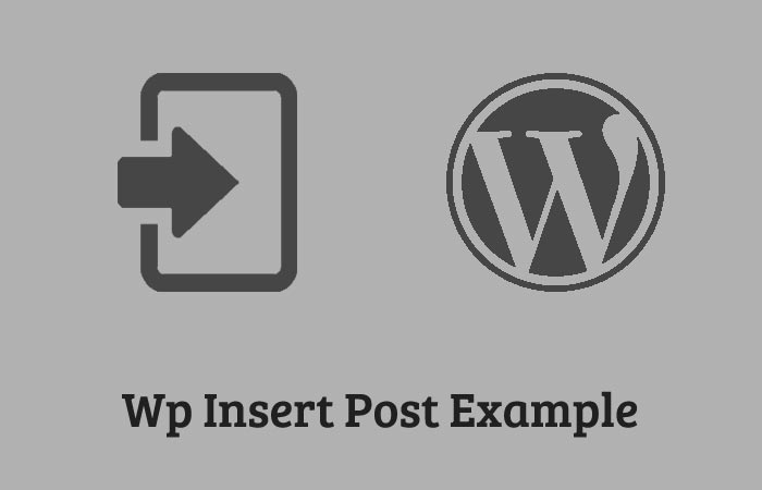 Wp_insert_post-Example