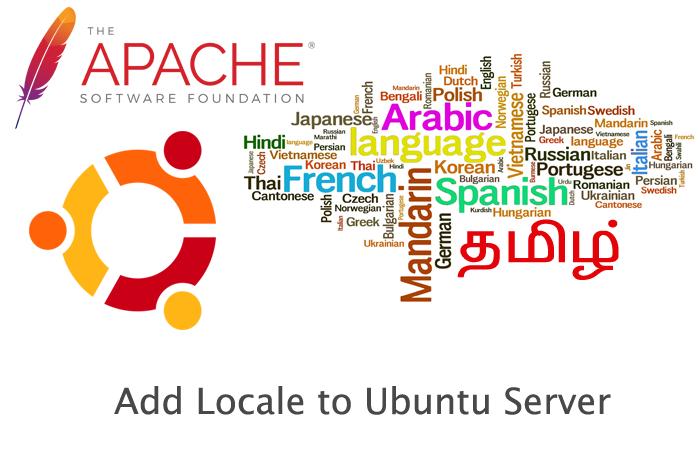 Add Locale to Ubuntu Server