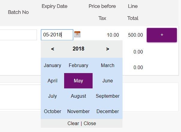 Simple JavaScript Month Year Picker