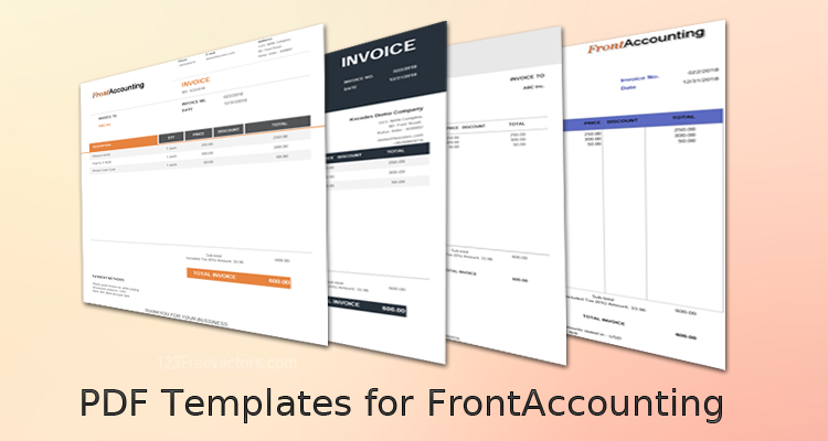 Premium PDF Templates For FrontAccounting